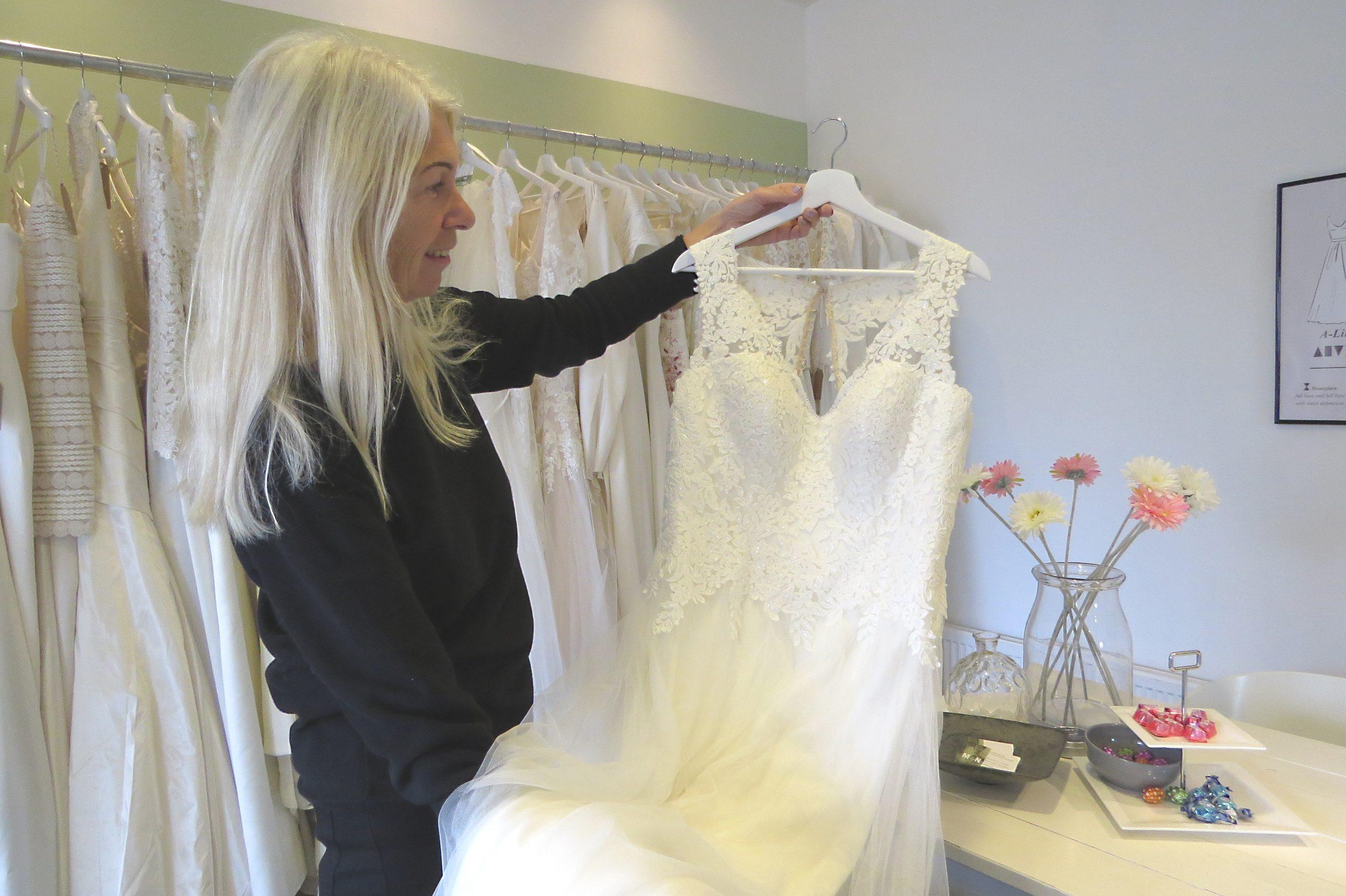 Bruidswinkel vol duurzame trouwjurken
