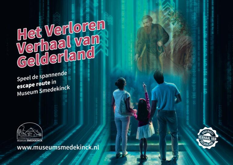 Spannende escape route voor het hele gezin bij Museum Smedekinck