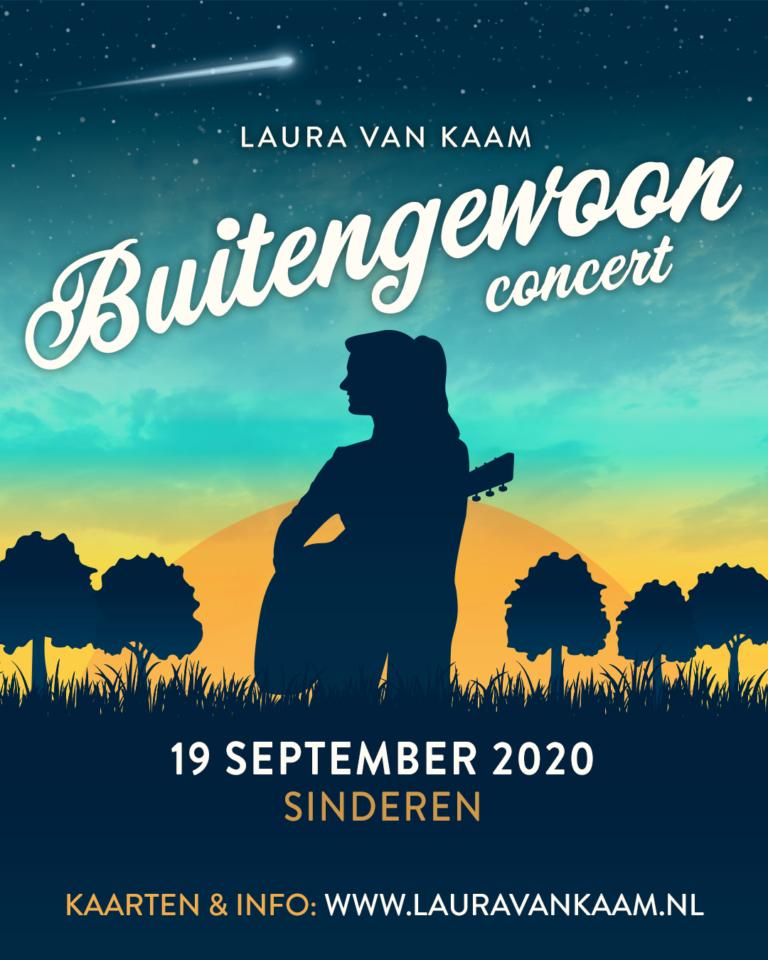 Weilandconcert Laura van Kaam in  Sinderen
