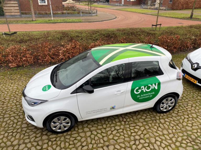 Elektrische deelauto's voor alle Achterhoekers