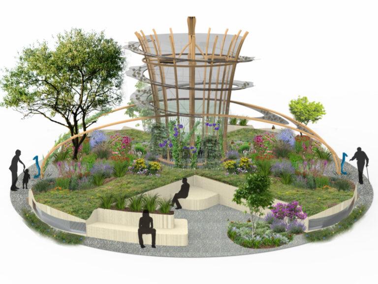 In de Achterhoek wordt een hightech, groene stadslong ontwikkeld