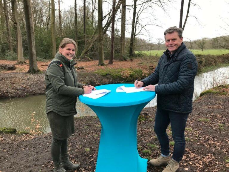 Waterschap Rijn en IJssel en Staatsbosbeheer bundelen krachten tegen verdroging natuurgebied De Meene bij Ruurlo