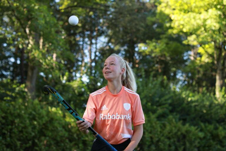Malou Nederlands kampioen Hockey Skills